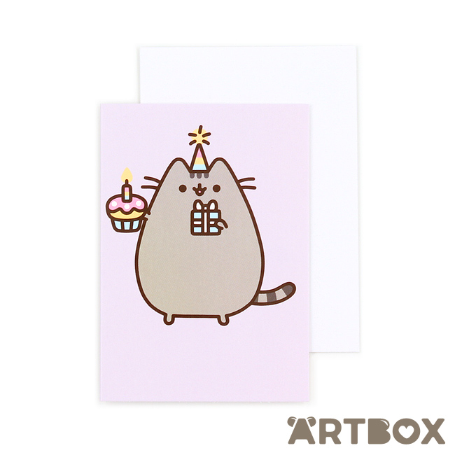 pusheen birthday card uk ; mini_greeting_pusheen_birthday_cupcake_1_650