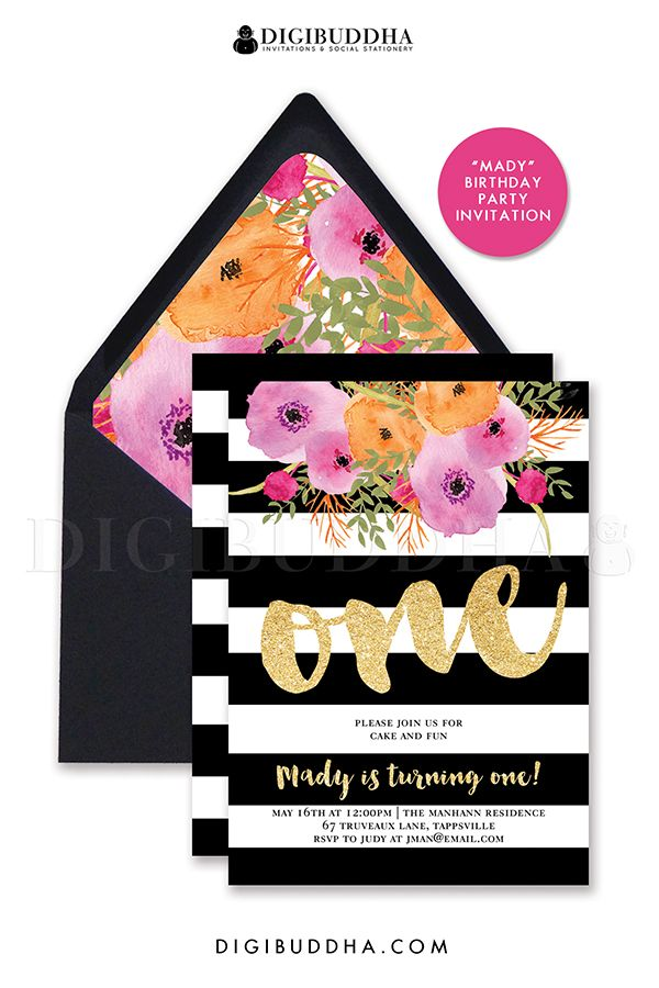 ready made birthday invitation cards ; bad27429c5aaf7c318a5a6d0aaa0a8ab--black-envelopes-brush-script