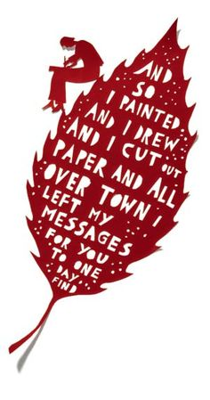 rob ryan birthday card ; b9d92a28255e6b8d1aac6d9d62aff924--paper-towns-papercutting