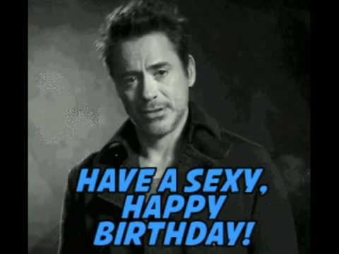 robert downey jr birthday card ; hqdefault
