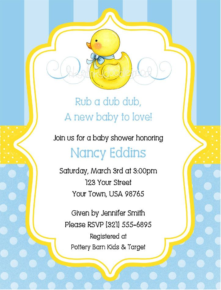 rubber ducky birthday invitation wording ; Popular-Rubber-Duck-Baby-Shower-Invitations-Which-You-Need-To-Make-Free-Printable-Baby-Shower-Invitations