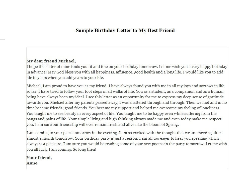 sample birthday message to a friend ; birthday-letter-for-best-friend-dolap-magnetband-co-in-birthday-letter-to-a-friend-samples