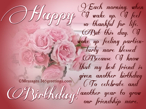 sample birthday message to a friend ; inspirational-birthday-wishes