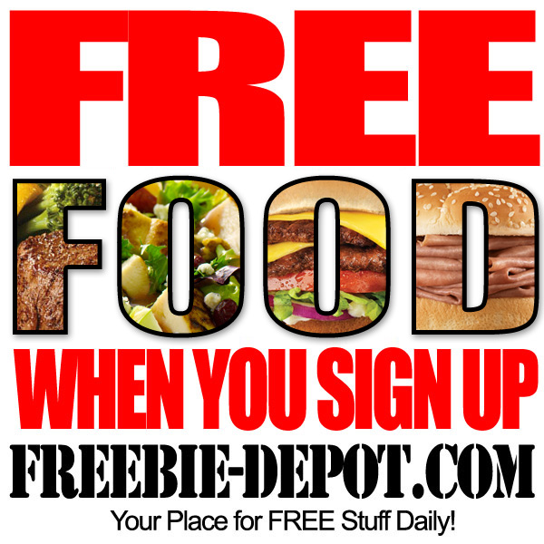 sign up for free birthday stuff ; Free-Food