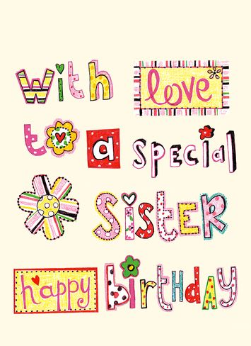 sister birthday poster ; 8bcbd84d43396a9e6740494316054137--birthday-greetings-for-sister-happy-birthday-sister-funny