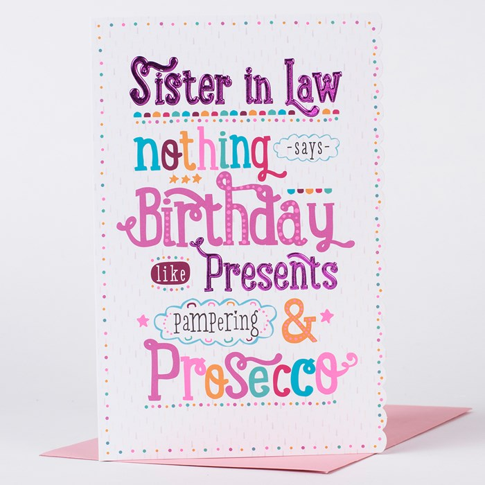 sister birthday poster ; Birthday-Card-Sister-In-Law-Spectacular-Sister-In-Law-Birthday-Card