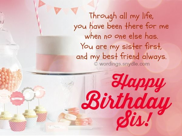 sister birthday poster ; birthday-quotes-birthday-wishes-for-sister-and-birthday-card-wordings-for-your-sister
