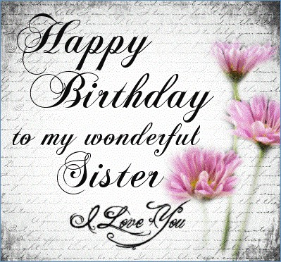 sister birthday poster ; happy-birthday-to-my-lovely-sister-of-like-a-sister-birthday-quotes