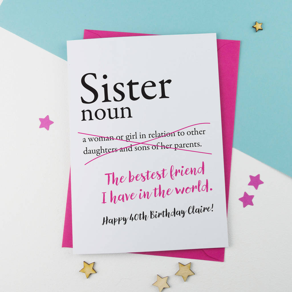 sister birthday poster ; original_sister-birthday-card-personalised