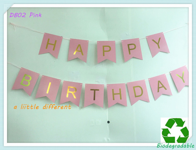 size of birthday banner ; Size-12x15cm-Pink-Backdrop-Gold-Foiled-Letter-Happy-Birthday-Banner-For-Gilrs-Ladies-Birthday-Party-Decoration