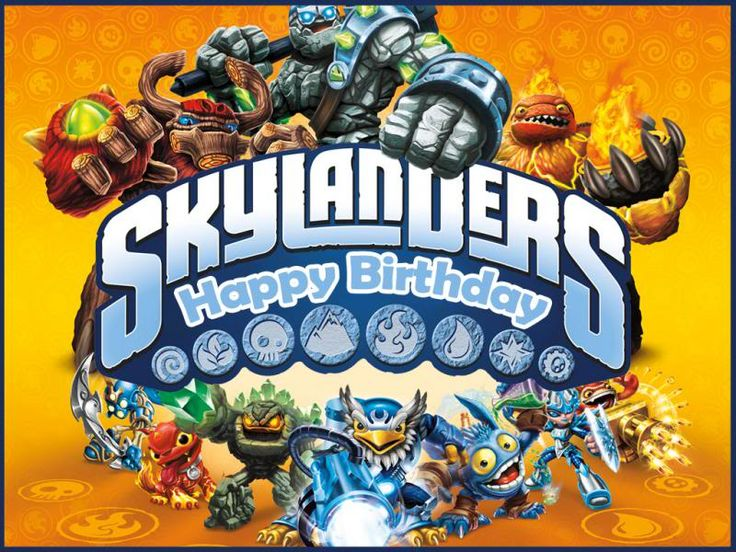 skylander birthday card template ; 57898d941ed526b327464ec59753a6e1--skylanders-party-th-birthday
