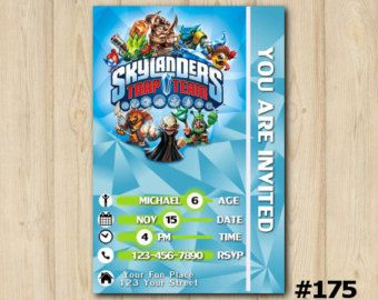 skylander birthday card template ; 91216e94c4b7ec72d601eb8379f56233