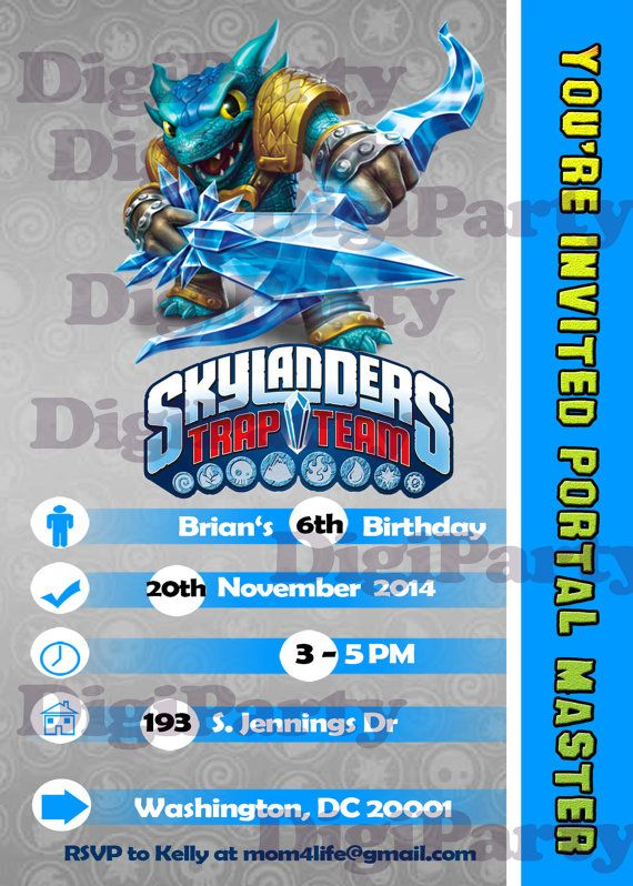 skylander birthday card template ; inspiring-skylander-birthday-invitations-free-design-to-make-birthday-party-invitation-template