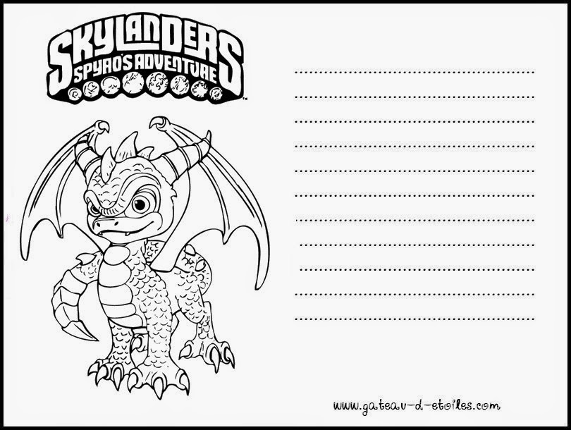 skylander birthday card template ; skylanders-free-printables-002