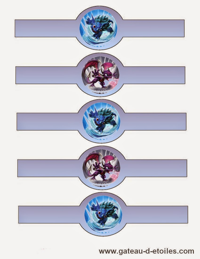 skylander birthday card template ; skylanders-free-printables-004