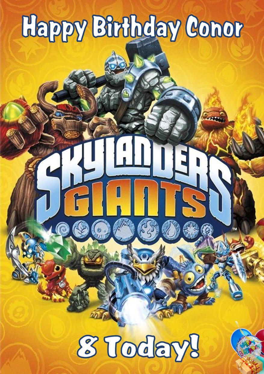 skylander birthday card template ; skylanders-giants_49100