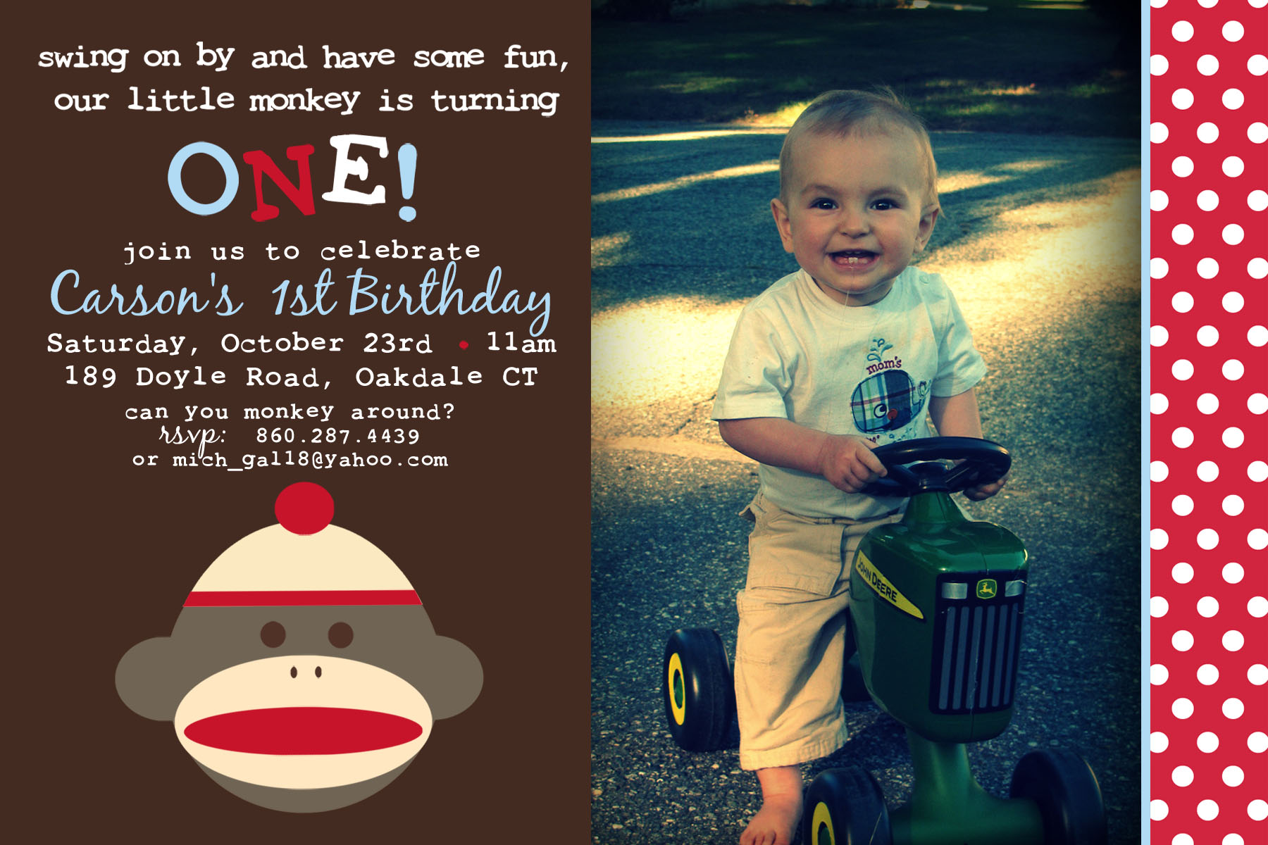 sock monkey birthday invitation template ; 844-sock-monkey-invitation-template-sock-monkey-invitation-template-29-awesome-sock-monkey-birthday-invitation-gallery-invitation-card-idea-for