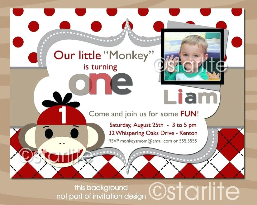 sock monkey birthday invitation template ; girl-sock-monkey-birthday-invitations-enchanting-mold-invitation-card-best-images-about-on-party-ng-girls-socks-and-st-s