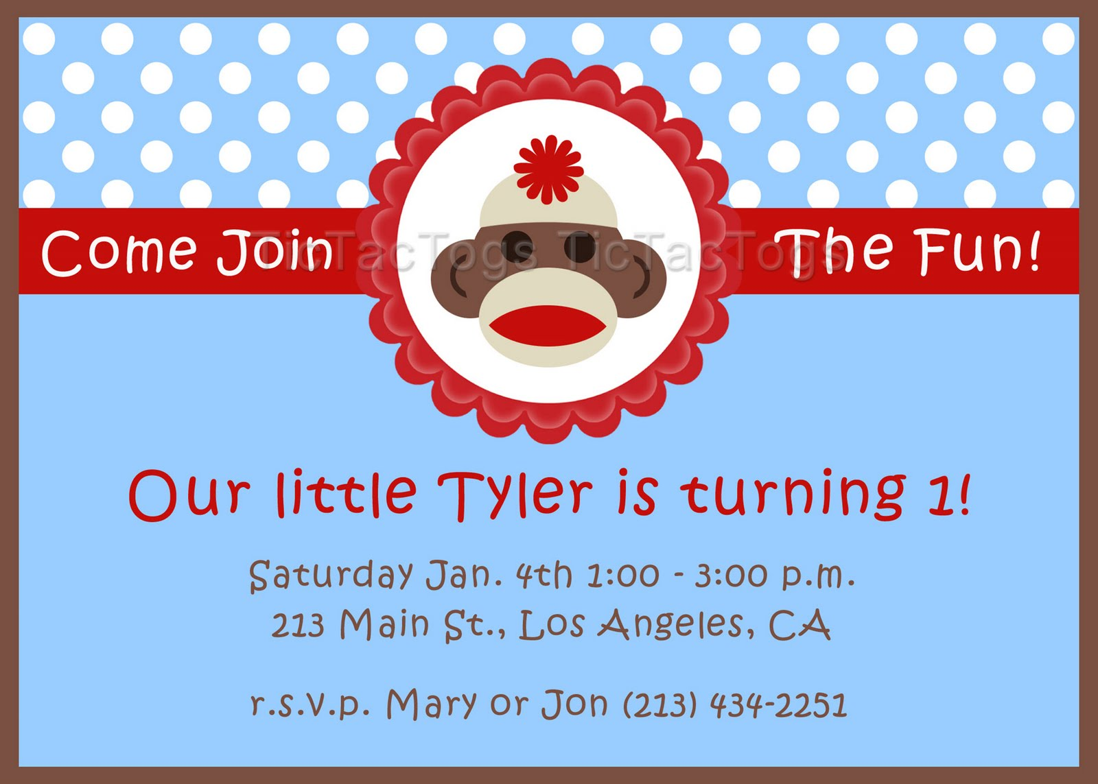 sock monkey birthday invitation template ; sock-monkey-birthday-invitations-template-mtzga2ec