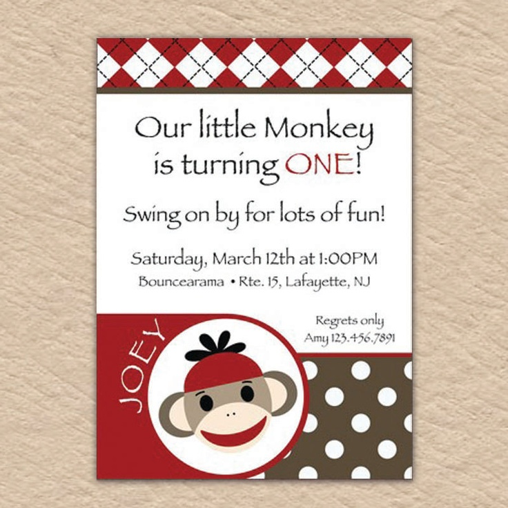 sock monkey birthday invitation template ; sock-monkey-invitation-template-elegant-247-best-eli-s-1st-birthday-sock-monkey-images-on-pinterest-of-sock-monkey-invitation-template