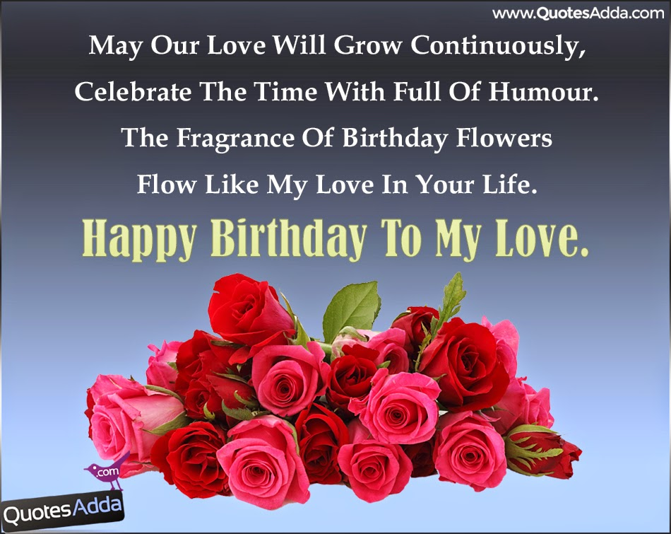 some birthday quotes ; Best-Birthday-Wishes-Sms-For-Husband-MAY22-QuotesAdda
