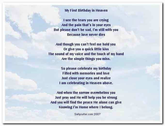 son's birthday in heaven poem ; new-birthday-poems-for-son-portrait-25-wonderful-concept-more-than-birthday-poems-for-son