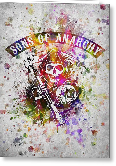 sons of anarchy happy birthday card ; sons-of-anarchy-in-color-aged-pixel