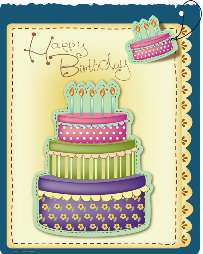 special birthday card design ; greeting-cards-for-birthday-50-beautiful-happy-birthday-greetings-card-design-examples