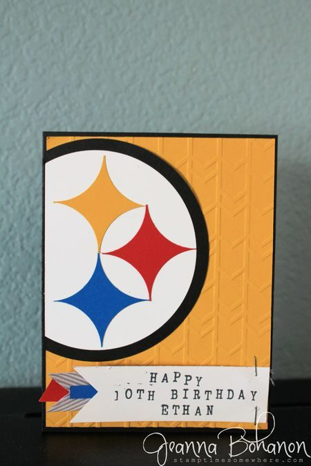 steelers birthday card ; 18295eed415812ace3cf8bc1f77ea2e7