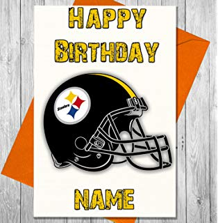 steelers birthday card ; 81CEJEkdjgL