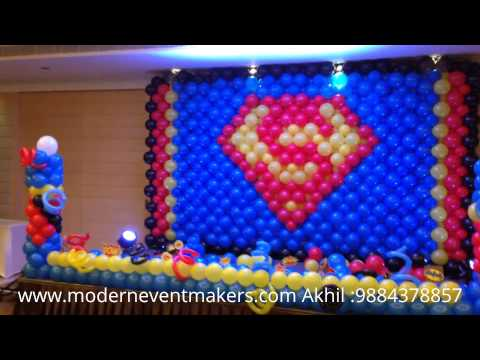 superman design for birthday party ; hqdefault