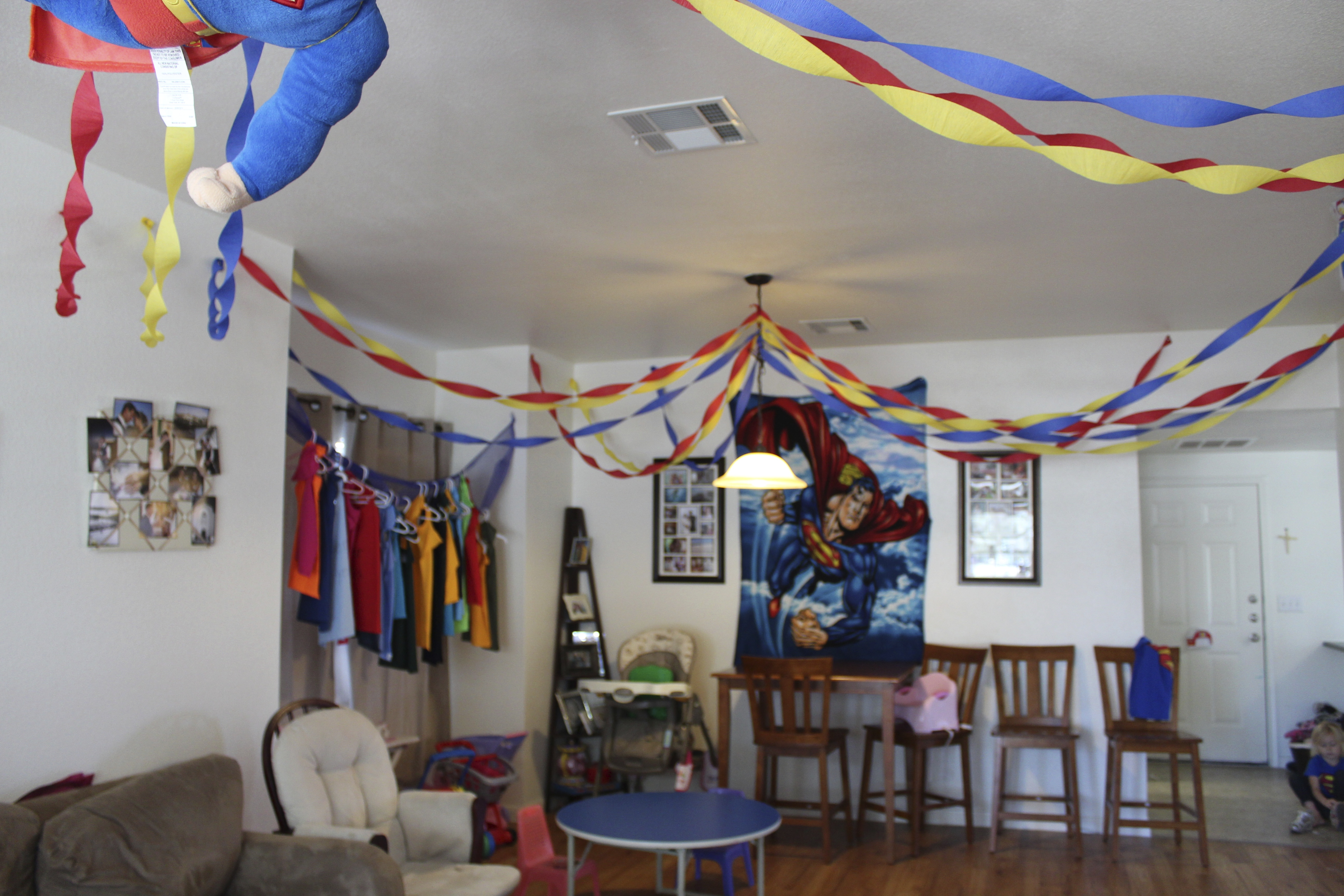 superman design for birthday party ; img_0076