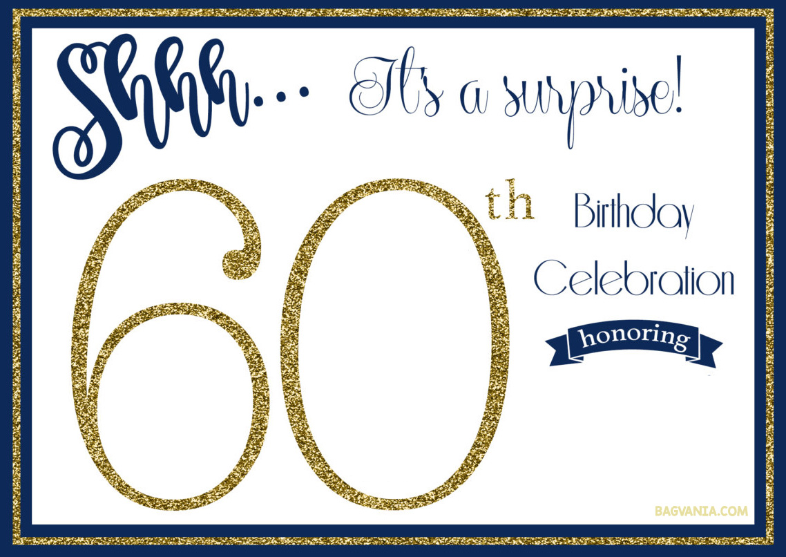 surprise 60th birthday invitation templates ; FREE-Printable-Golden-Surprise-60th-Birthday-Invitation-Template