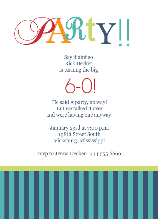 surprise 60th birthday invitation templates ; Th-Birthday-Party-Invitation-Templates-Cool-Party-Invitations-For-60th-Birthday