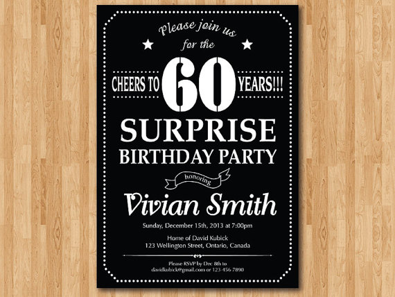 surprise 60th birthday invitation templates ; il_570xN