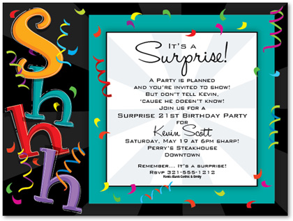 surprise birthday party invitation wording ; kids-birthday-invitations-girls-boys-boys-amp-girls-sweet-16-invitation-wording-for-70th-birthday-surprise-party