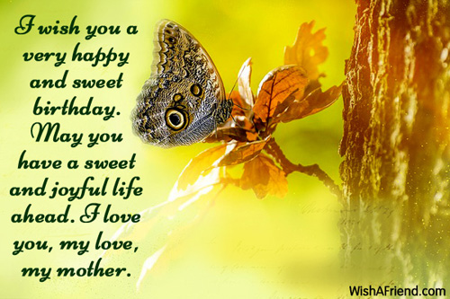 sweet birthday message for my mother ; 439-mom-birthday-messages