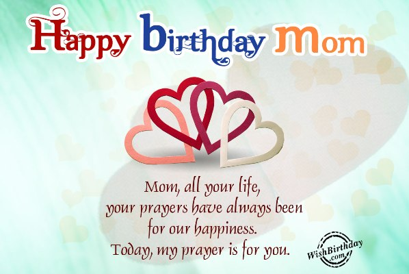 sweet birthday message for my mother ; Birthday-wishes-for-mom