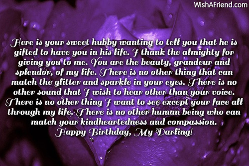 sweet birthday message for wife ; 11807-wife-birthday-wishes