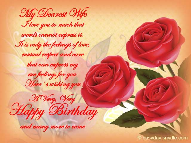 sweet birthday message for wife ; happy-birthday-wishes-for-wife