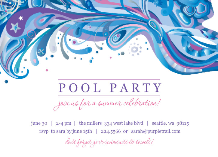 swimming birthday party invitation ideas ; Chic-Pool-Party-Invitations-Which-Can-Be-Used-As-Free-Printable-Birthday-Party-Invitations