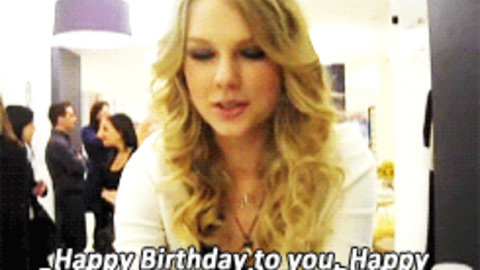 taylor swift happy birthday ; giphy-facebook_s