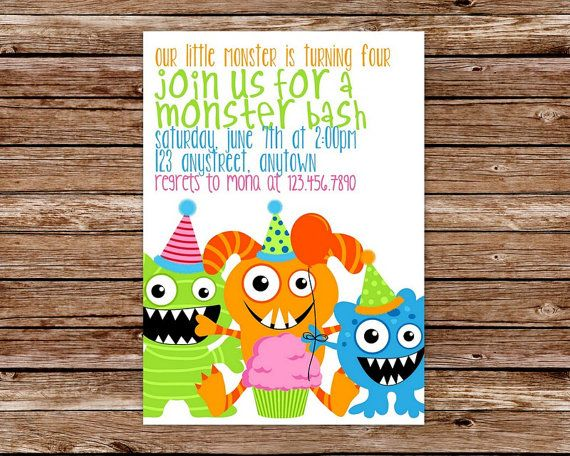 terrible two birthday invitation wording ; f0d834bb16594ba6cc9e77531035e903--monster-birthday-invitations-monster-birthday-parties