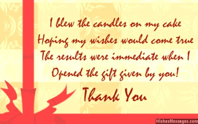 thank you message for birthday wishes to wife ; Cute-return-message-for-a-birthday-gift