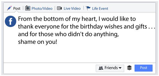 thank you message for my birthday greeters ; 13752155_f520