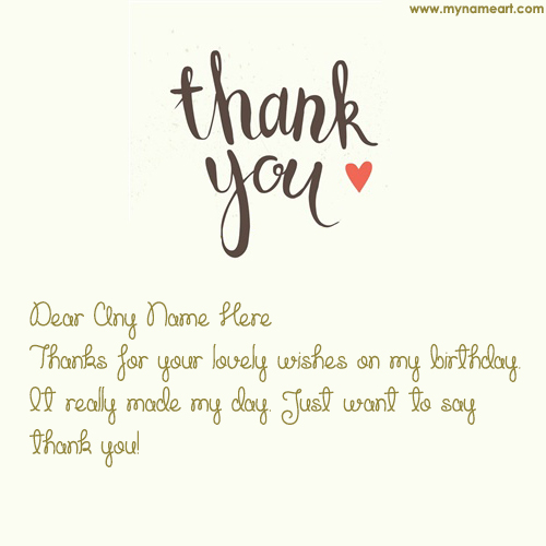 thank you note for birthday card ; thank-you-for-birthday-wishes
