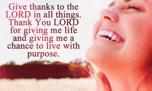 thanksgiving message to god for my birthday ; hi-thansk