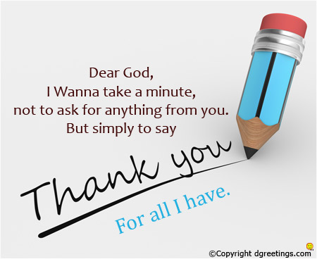thanksgiving message to god for my birthday ; thank-you-for-all-card