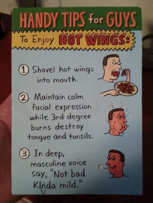 the funniest birthday card ever ; funny-handy-tips-hot-wings1