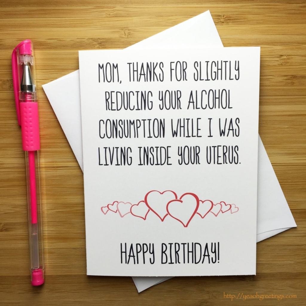 the funniest birthday card ever ; mother-birthday-card-bday-card-mum-funny-birthday-card-1